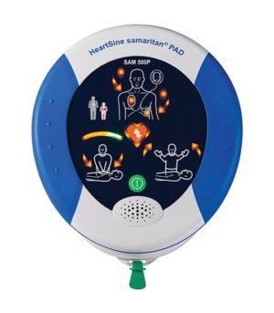 HeartSine SAM 500P AED Defibrillator